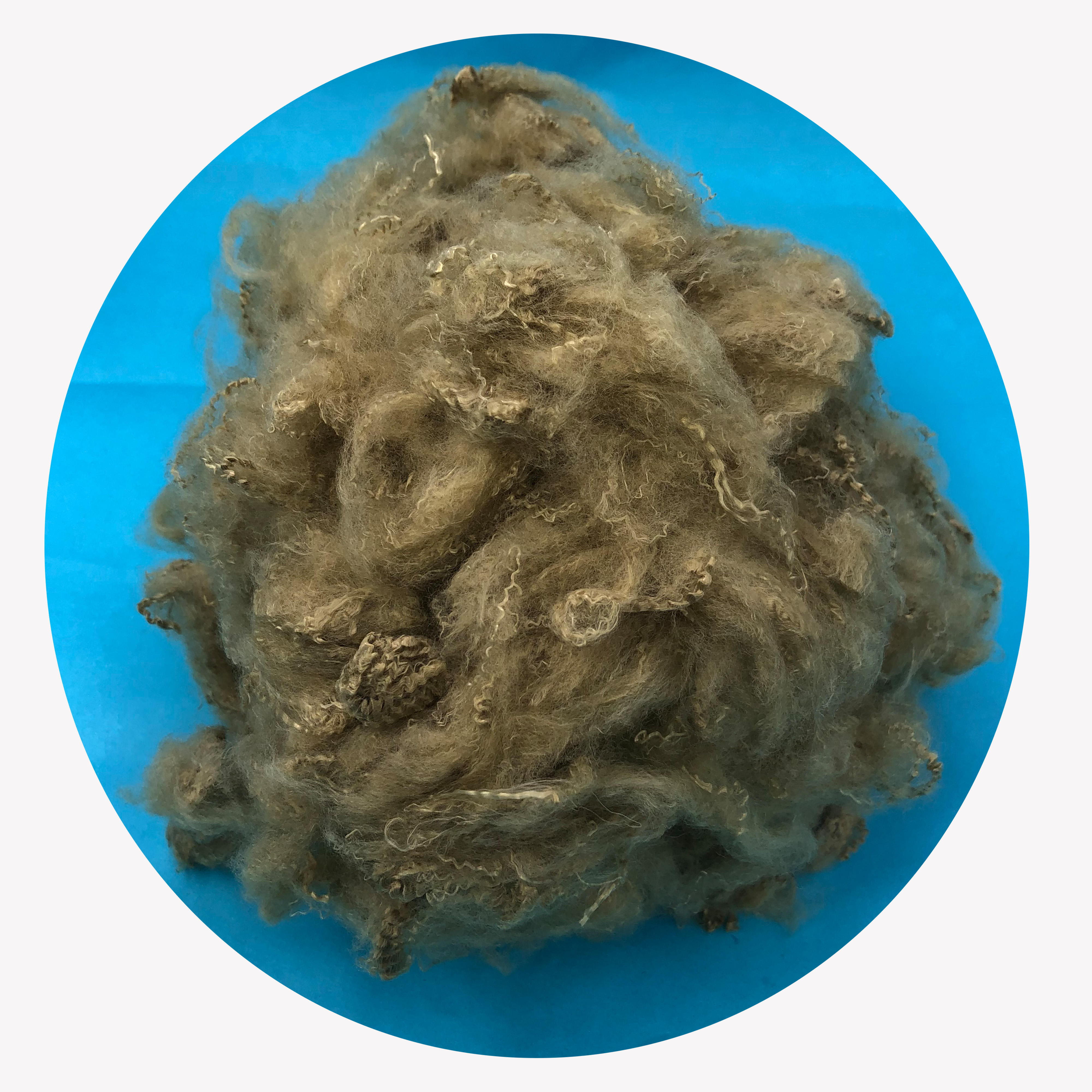 Antibacterial copper polyester fiber for underwear