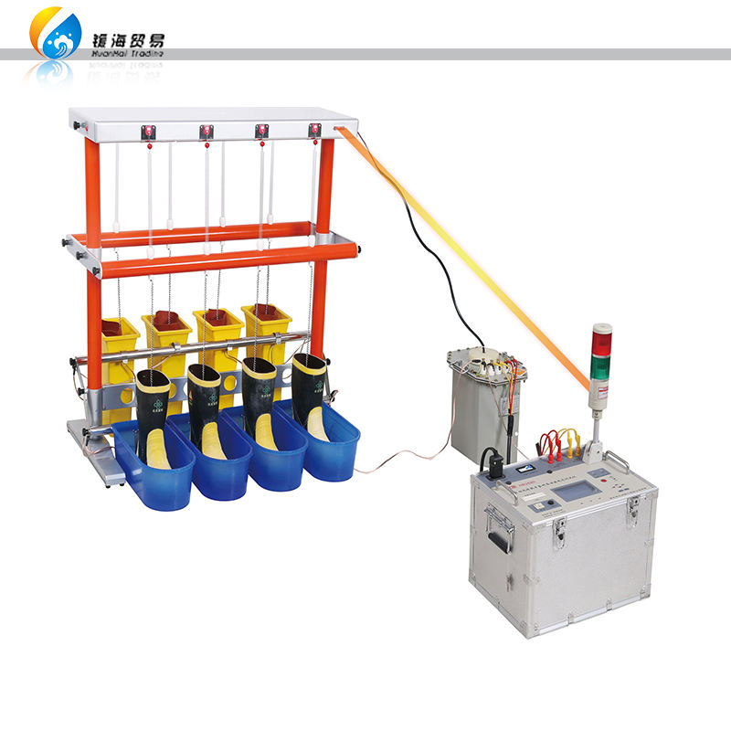 Electrical Insulating Tools Testing Machine Dielectric BootsとGloves Insulation Tester