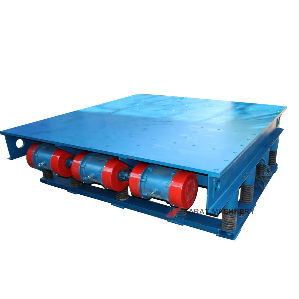Packaging Customization [ Concrete Small ] Concrete Vibrating Table Industrial Precast Paver Concrete Cement Small Shaker Vibrating Table