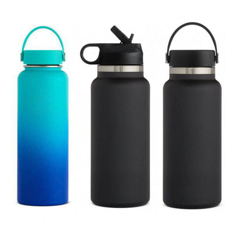 amazon 18 oz 32 oz 40 oz hydro water bottle insulated vacuum flask stainless steel sport water bottles ,bottle water with lids