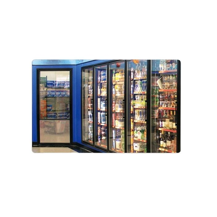 Refrigeration equipment parts Beer cave glass door for supermarket/convenient store