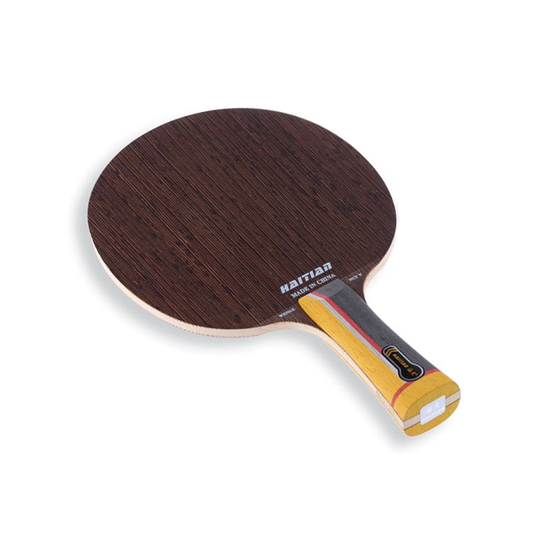 Promotion table tennis racket with wenge wood