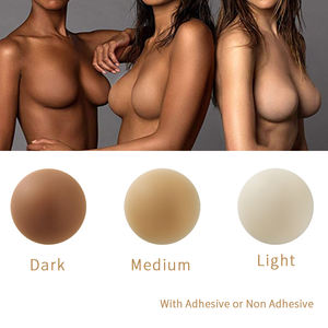2020 New Arrival Sexy Girl Nipple Cover Invisible Silicone Matt Nipple Cover