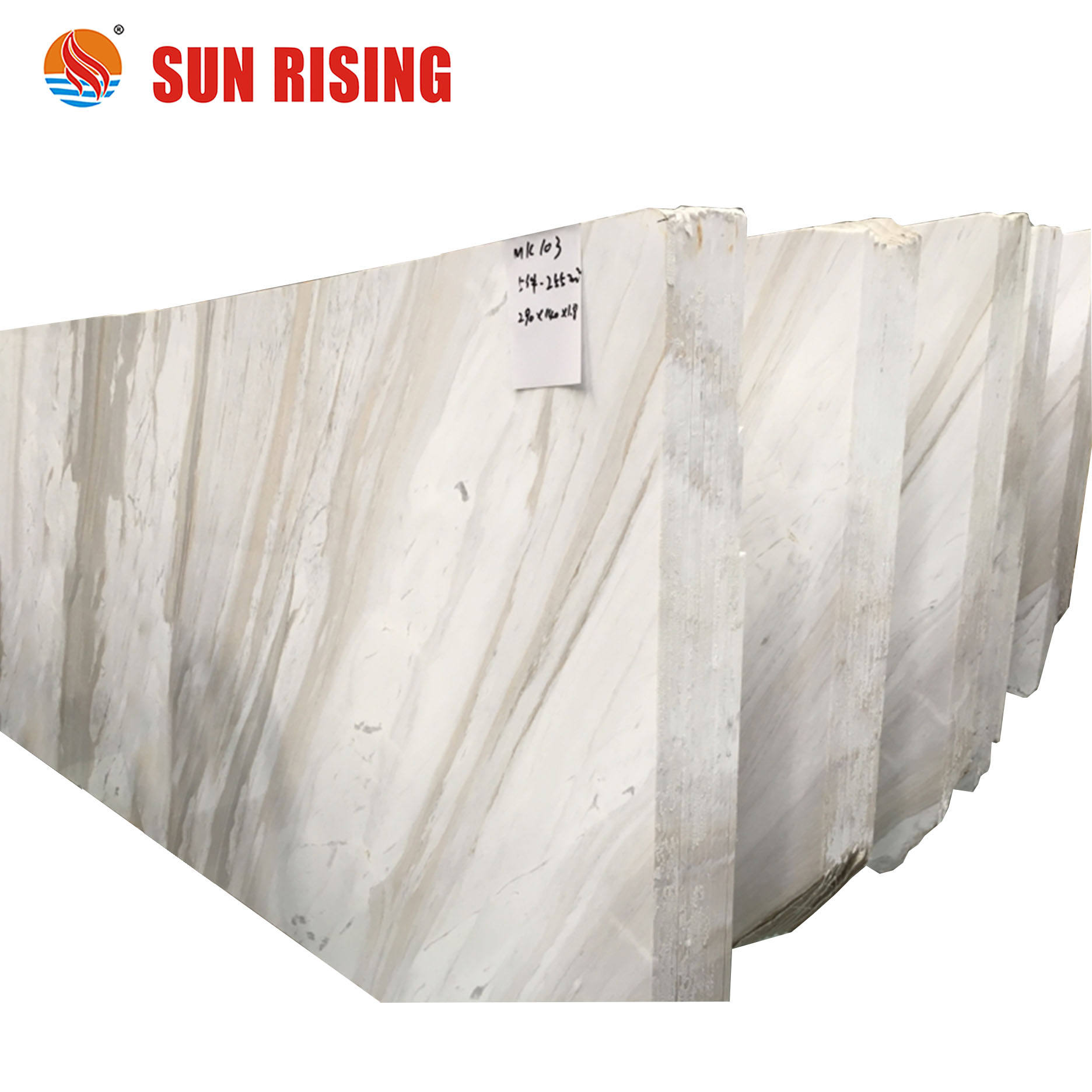 Natural Volakas White Marble Slab White Marble Big Slab For Wall Decorative