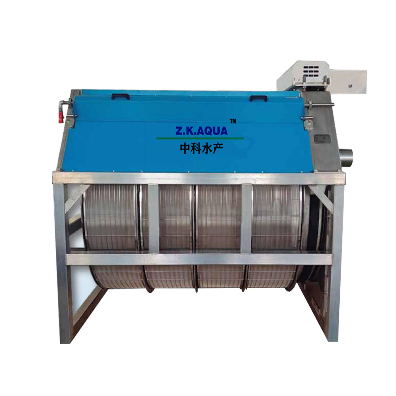 New products rotary drum filter kolam koi supplier