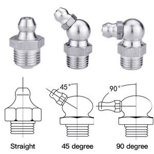 Selang Hidrolik Fitting Stainless Steel 1/8bsp 1/8npt Grease Nipple Fitting
