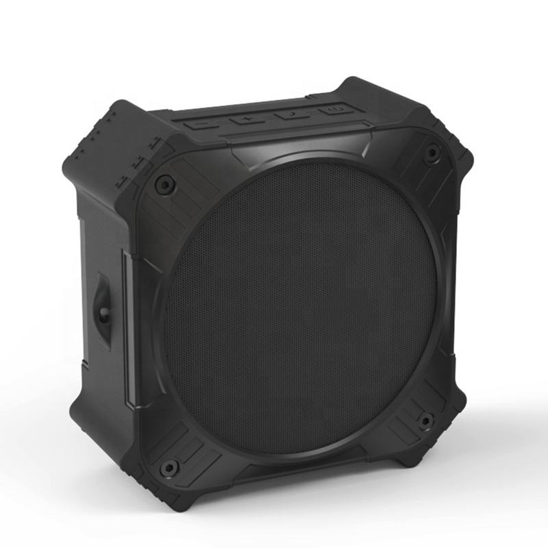 Kasar Portable Shockproof 5W Speaker Nirkabel IPX6 Tahan Air Outdoor Indoor Wireless Speaker dengan Built-In Mikrofon