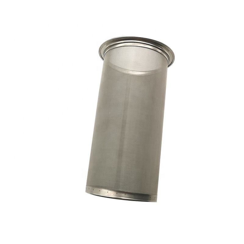 Durable 150 micron coffee filter tube for 1 2 quart mason jar