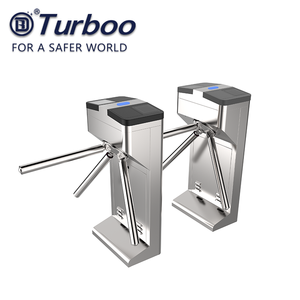 Turboo 304 3 ARM Turnstile YL121 Molinetes Windlasses Turnstile ขาตั้งกล้อง RFID Card Access Control System