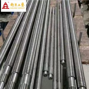 Rolled ball screw for router machine