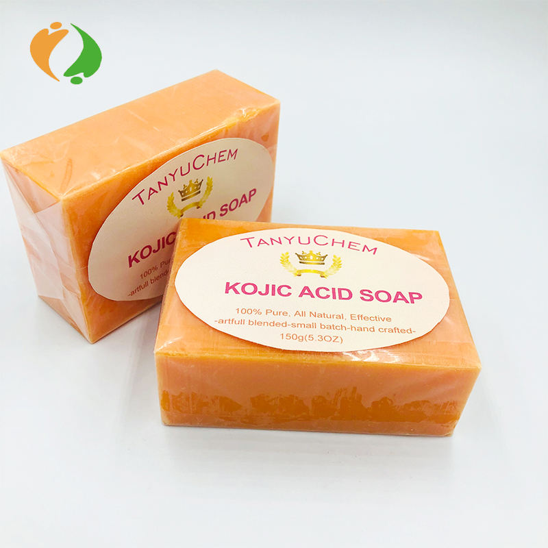 Private Logo Available Handmade Skin Lightening and Beauty Kojic Acid Papaya Face Soap 150g/pc