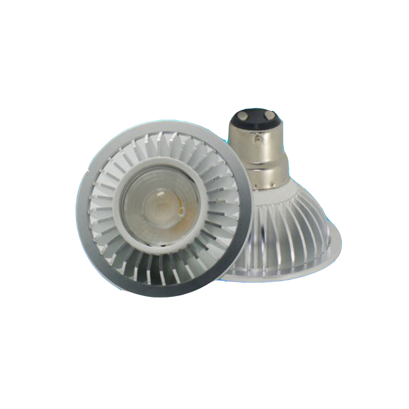Titreşimsiz COB downlight Gu10 led ışık B15 AR70 led spot