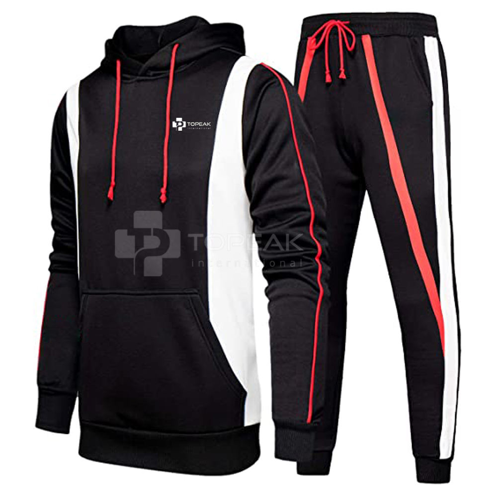 Latest Design Custom Design Men Cotton Jogging Suit / Track Suit