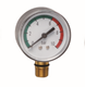 Water treatment Manometer dry Pressure Gauge Stainless Steel car tire air with brass dry pressure gauge