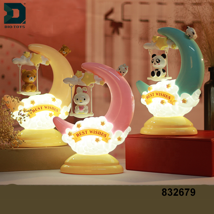 Best Quality Cartoon Night Led Desk Moon Table Children Lamp