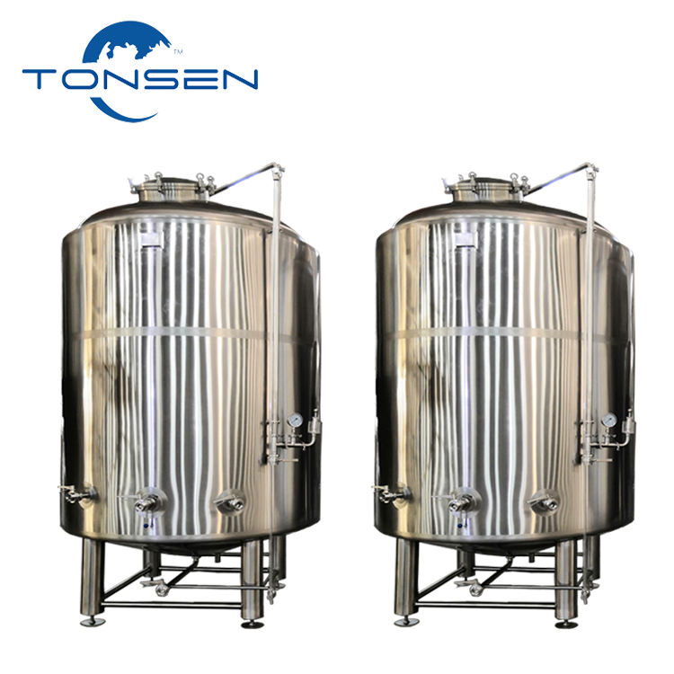 1500L High Quality Bright Beer Tank Stainless Steel brewing conical bottom fermentation Vessel
