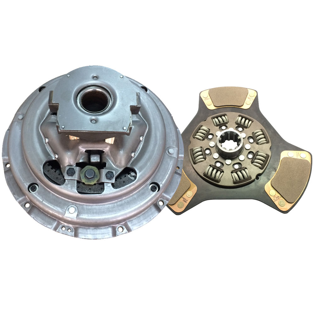 Two-Plate, 3-Paddle // 8-Spring, 2000 Plate Load // 900 Torque, Includes Positive Separator Pin IATCO 107237-8-A-IAT 14 x 1-3//4 Stamped Steel Clutch