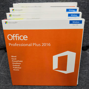 100% Online Activering Multi-Taal Microsoft Office 2016 Pro Plus Key Card Licentie Software