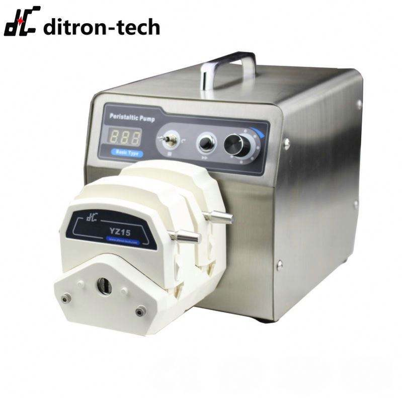 Intelligent Dispensing Peristaltic Pump With Color LCD Touch Screen
