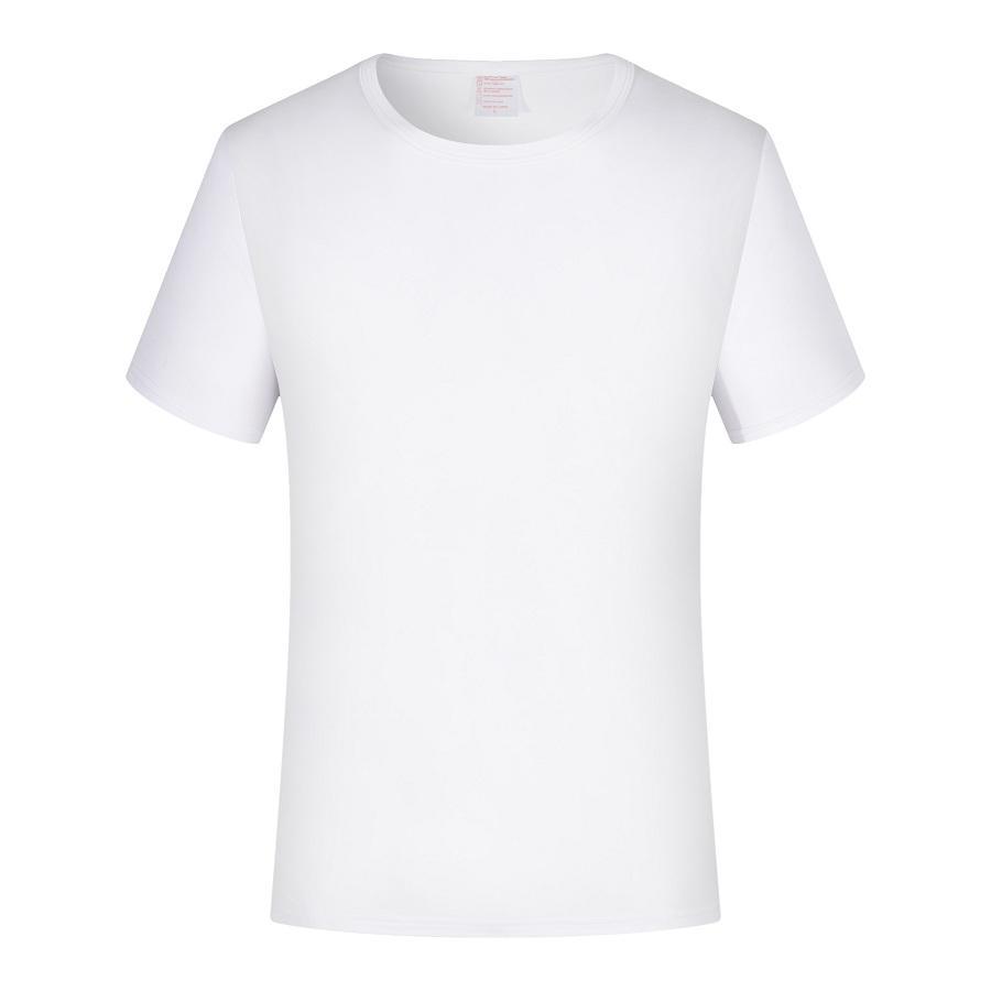 Sublimation Custom Adult Round Neck Modal T Shirt