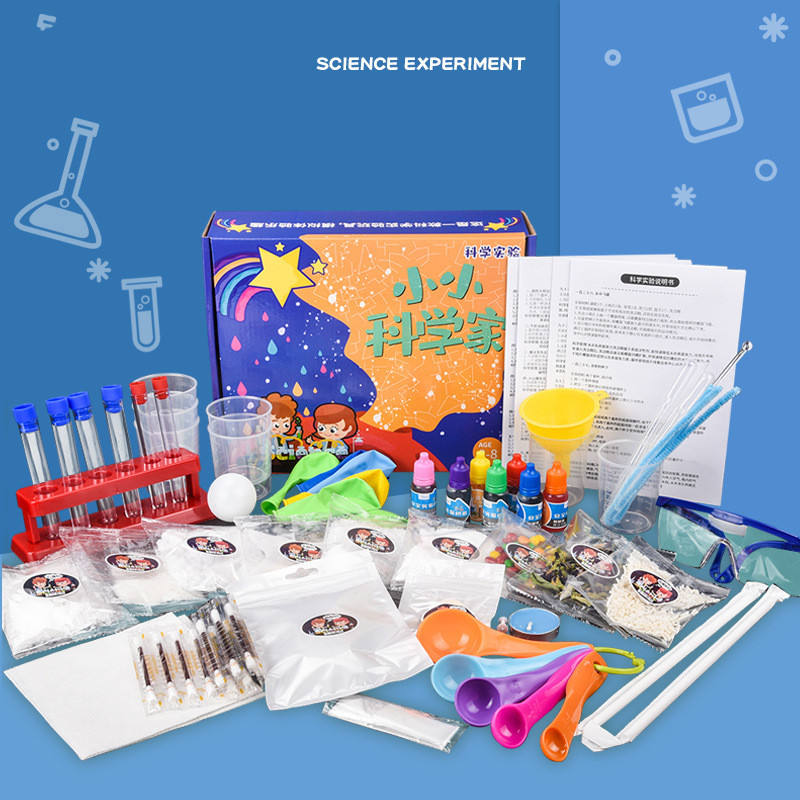 Hotselling funny science lab kit fun with chemistry Magic chemistry experiment suit science learning kits STEAM toys