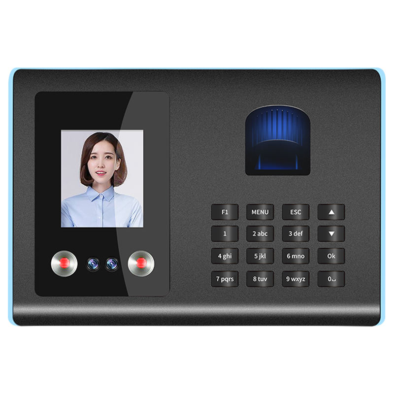 Hot Sale Software Free Biometric Face Recognition Facial Fingerprint Time Attendance System