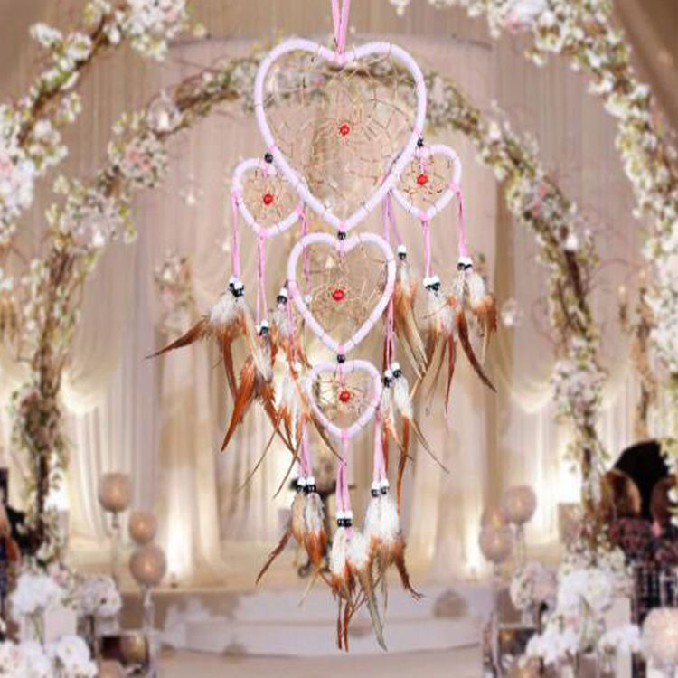 Factory New Dream Catcher Traditional Indian Wall Art Design Dimensions Wall Hanging Home decor Handmade Feathers Wedding Decor