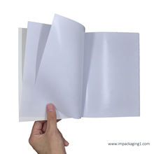 accept custom size blank inner pages sticker collecting book blank sticker album
