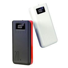 metal mobile power 20000mah supply portable high quality battery charger 20000mah power bank
