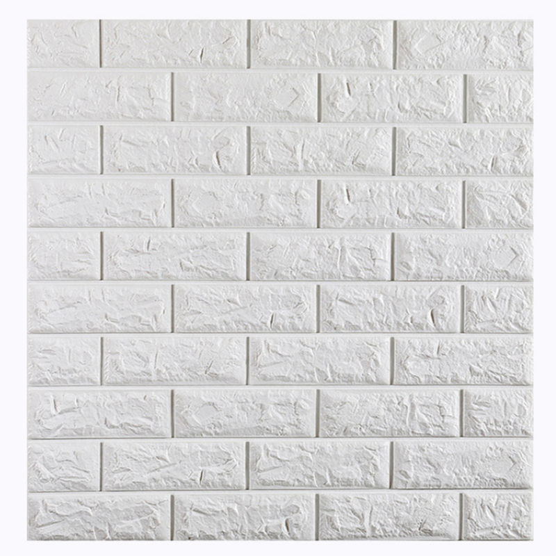 Cheap Wallpaper For Sale Self Adhesive Wall Tiles Foam Brick 3d Wallpaper Walls Wholesale Home Decoration Warm Color Wallpaper