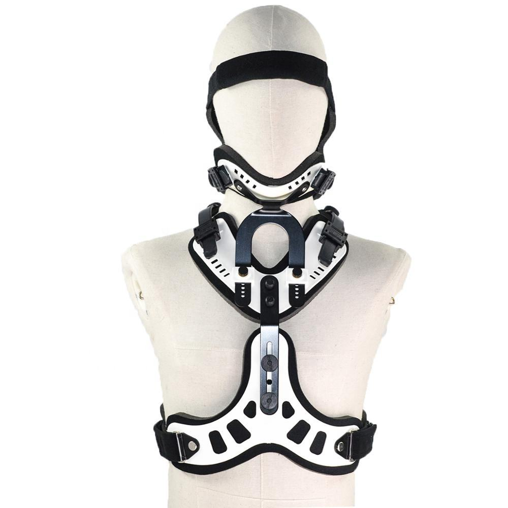 CE Medical Orthopedic Physical Therapy Rehabilitation Head Neck Orthosis Neck Brace Cervical Collar Neck Support Brace