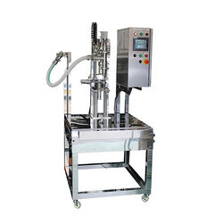 All stainless steel construction weight control filling machines for liquid