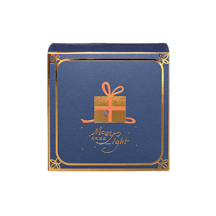 Wholesale Custom Printed Packaging Moon cake Gift Box Luxury Gold Foil Present Packaging