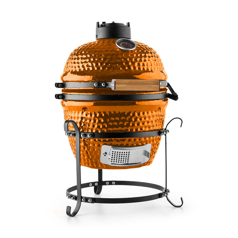 BBQ Fumatore Professionale Auplex Kamado <span class=keywords><strong>Camino</strong></span> Mattoni Giapponese Yakitori Grill