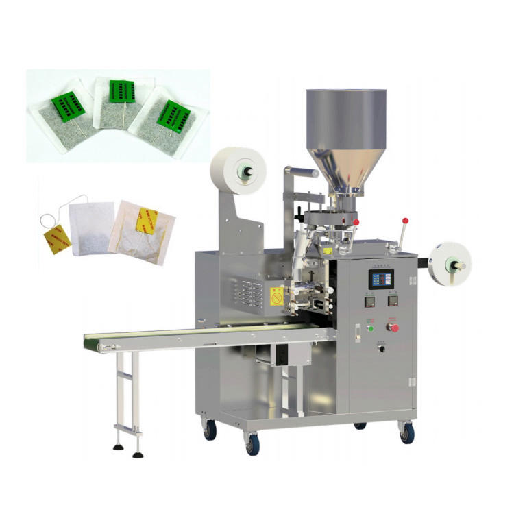 High Speed Factory Price Household Manual Tea Bag Packing Machine With Thread and Label