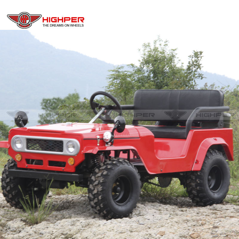 125cc 150cc Off Road Willys UTV Mini Jeep per I Bambini