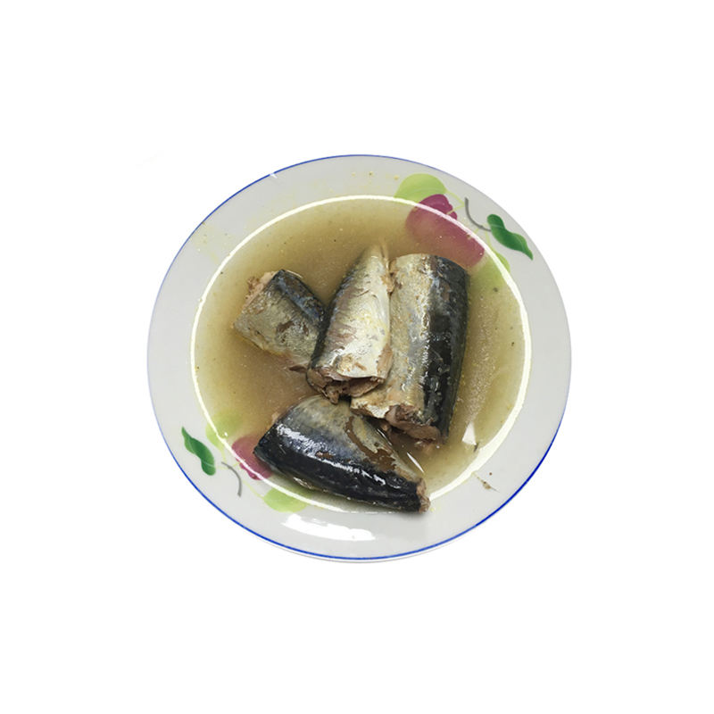 SLSI Registered canned mackerel in brine for Sri Lanka