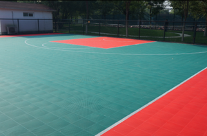 Portable outdoor basketball sport court flooring for sale