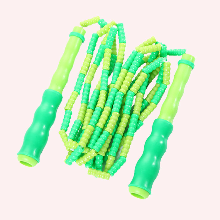 2021 Drop Shipping Heavy Jump Rope Skipping Plastic Segmented Adjustable Jumping Skipping Rope