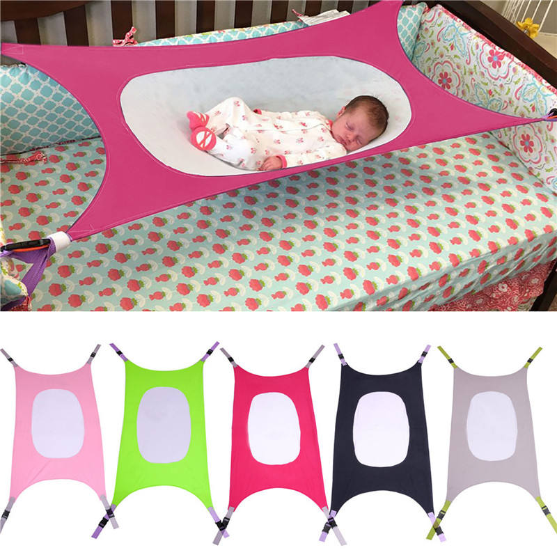 Hot Sale New Design Cartoon Soft Mesh Baby Hammock Summer Lightweight Custom Swing Crib Hammock For Home