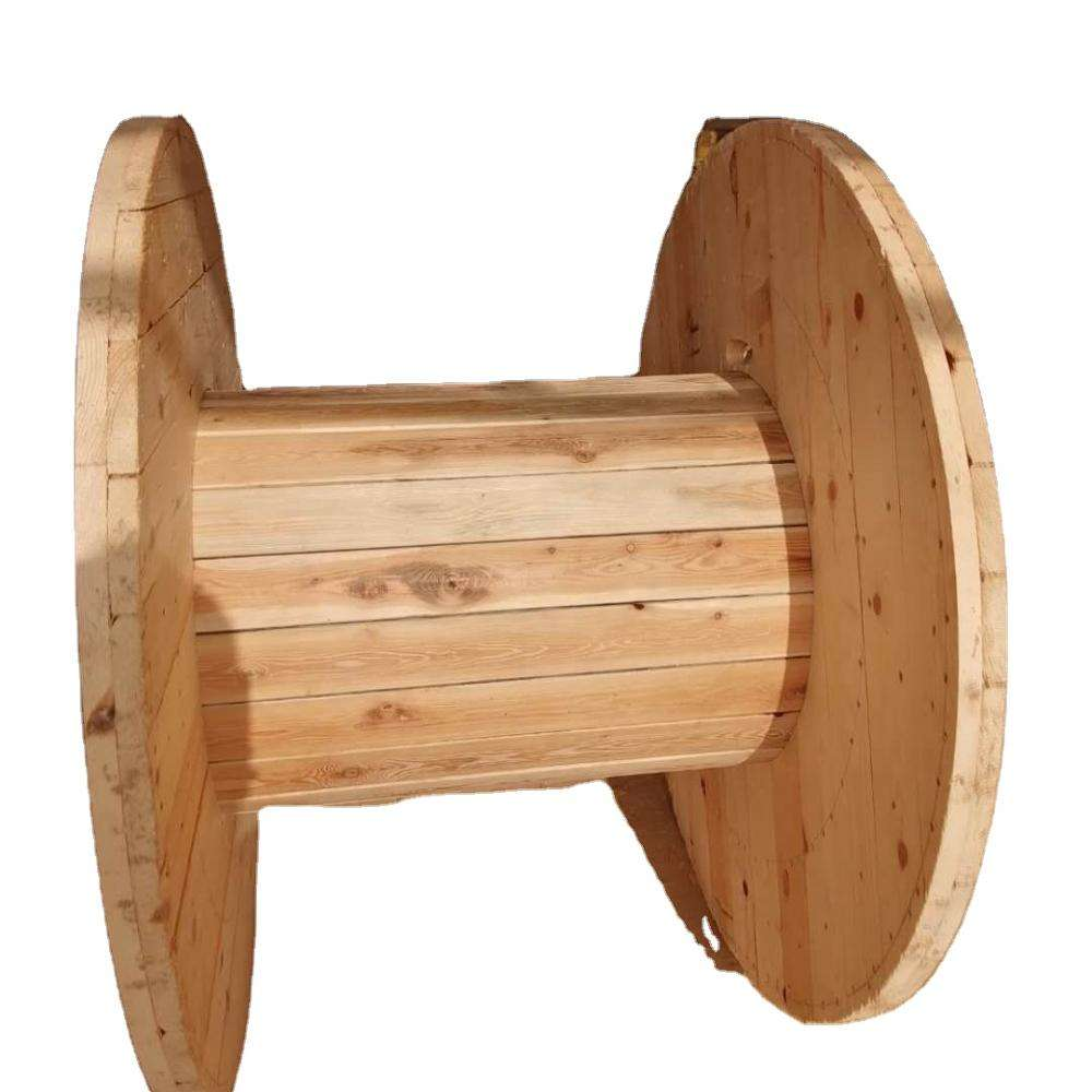 Empty big wooden cable spool wooden cable spool for sale
