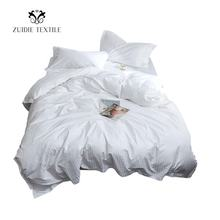 Disposable twin queen king bedding set hotel duvet cover bed linen for hotels comforter set