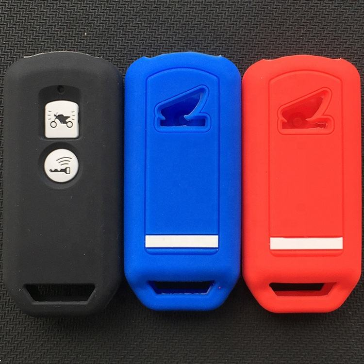 Motorcycle accessories silicone rubber car key casing for PCX150 X-ADVSH125 ScoopySH300 Forza125