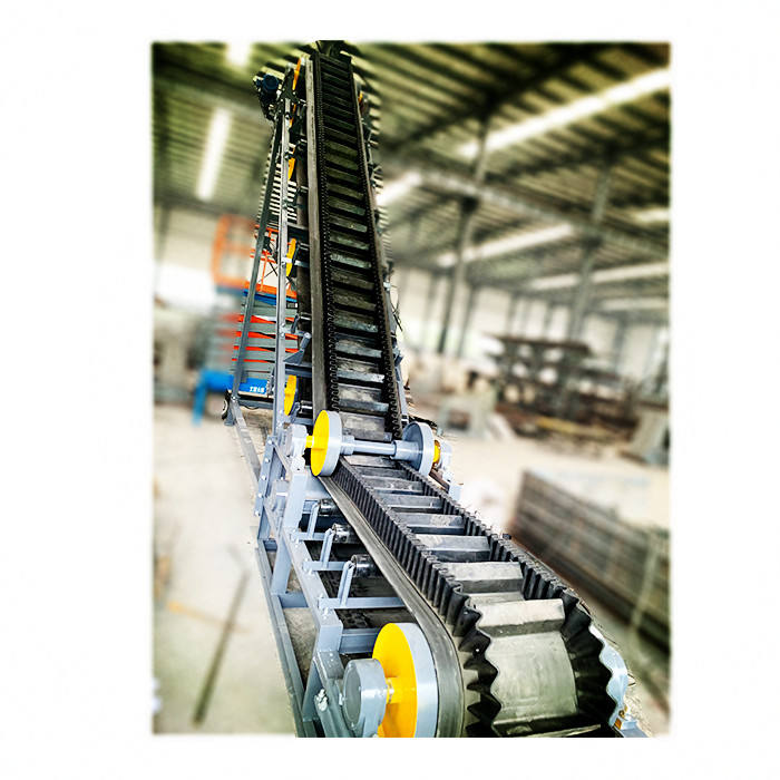 feeds custom assembly line industrial transfer pvc belt conveyor for sand / mine / stone crusher / coal