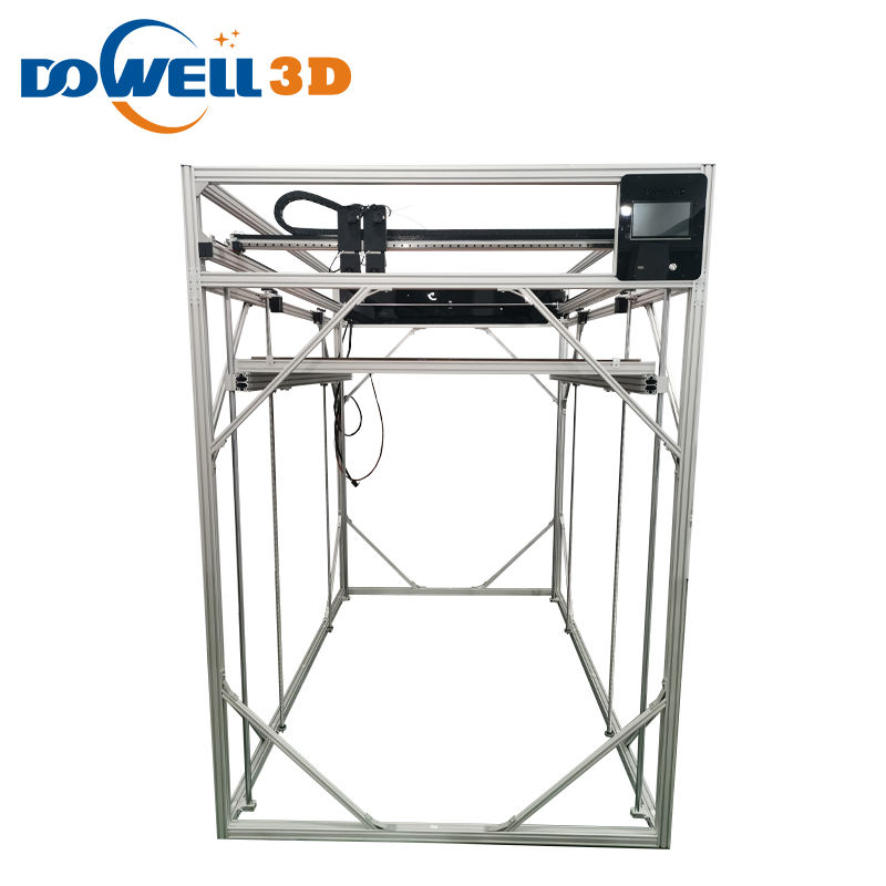Dowell 2021 new arrival large size 3d printer diy kit auto-leveling industrial 3d printer for sale with OEM and ODM service