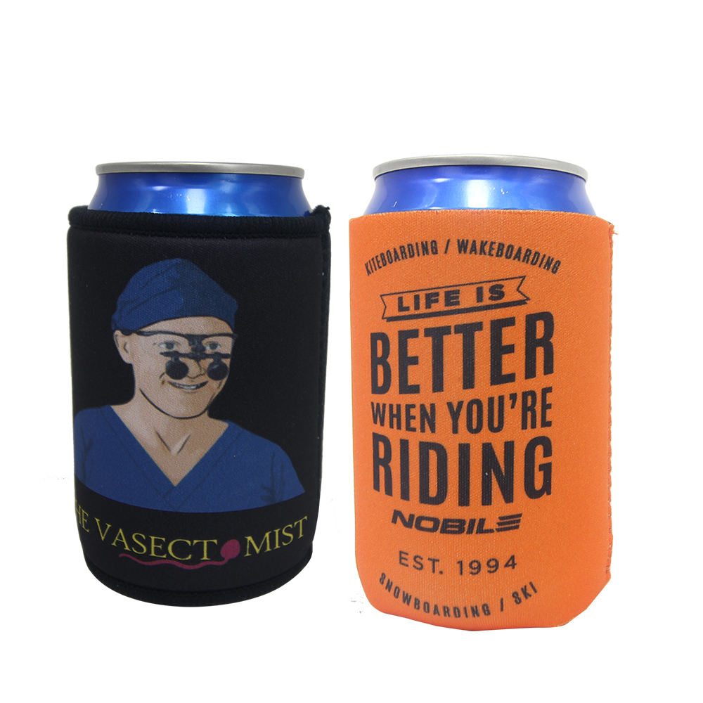 Unique Gift Ideas Neoprene Can Cooler With Bottom Upright Beer Cooler
