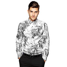 Low moq factory outlet  casual men digital print button down aloha beach dress shirts