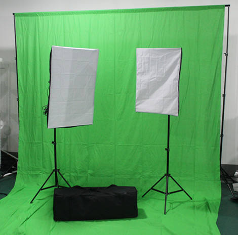 Forfeel Photo Studio Fundos Backdrops softbox kit