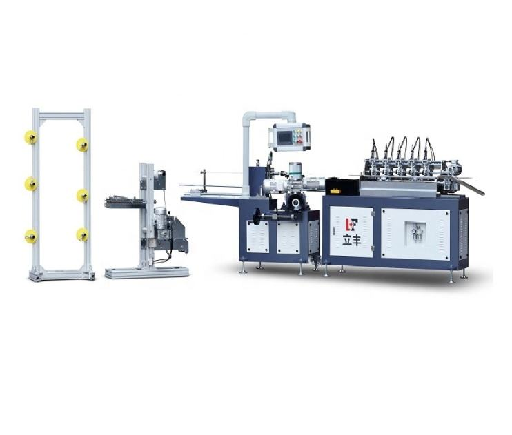 China Disposable Paper Drinking Straw Making Machine with PLC Controller