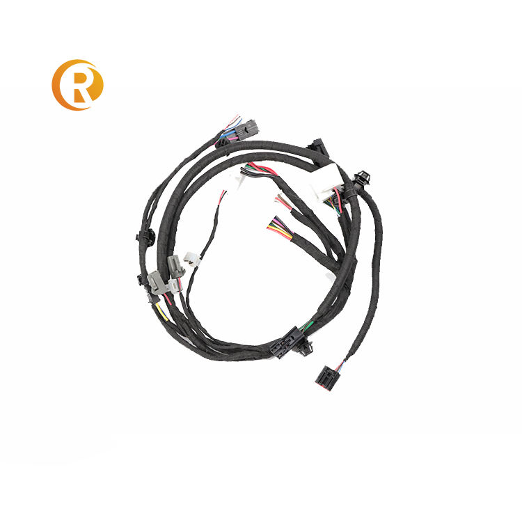 Custom Excavator Automobile Car Auto Cable Tractor Trailer Wiring Harness